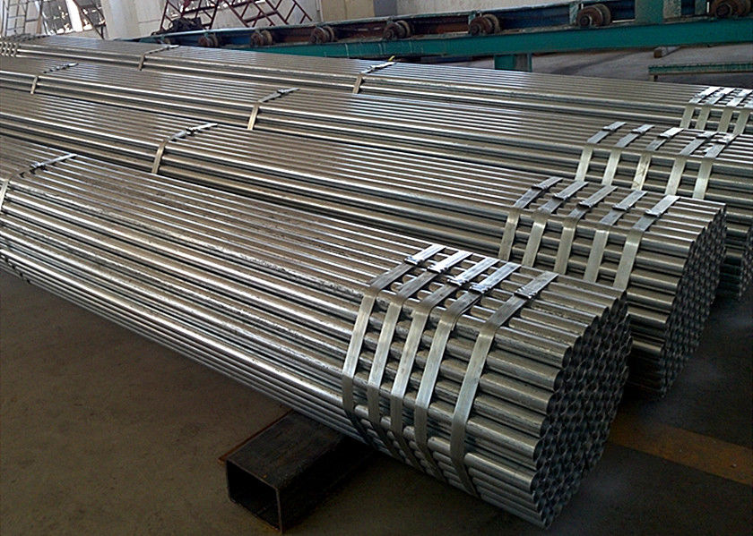 Welded Steel Scaffold Tube Bending Scaffold Tube Building Material 4.5 Mm Thickness